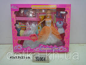 "Лялька 11,5"" Fajiabao 89064 з нарядами"