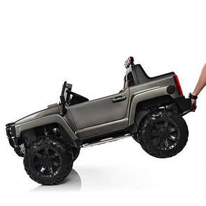 Детский Электромобиль Bambi ДЖИП Hummer Grey (M 3830 EBLRS 11), фото 2