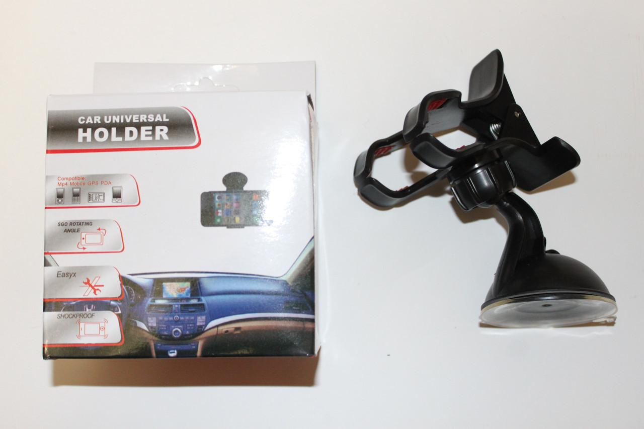 Холдер на присоске для смартфона, видеорегистратора, GPS и др.