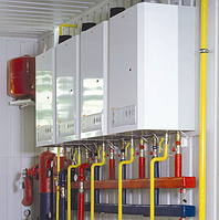 Модульная транспортабельная газовая котельная Колви КМ-2-400 ES 400 квт