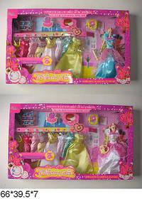 """Лялька 11,5"""" Fajiabao 89076 з нарядами, аксес.кор 66,5*7*39,5 /16/"""