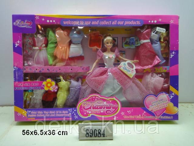 """Кукла 11,5"""" Fajiabao 89084 с нарядами"""