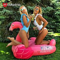 Modarina Надувной матрасFlamingo 142 см, фото 1