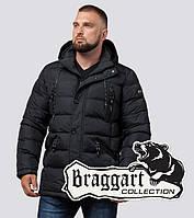 Мужская куртка на зиму Braggart 27635 графит