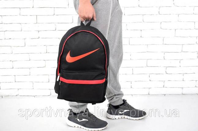 Спортивный черный рюкзак Nike (реплика), фото 2