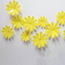 Набір жовтих квіток - 12шт.