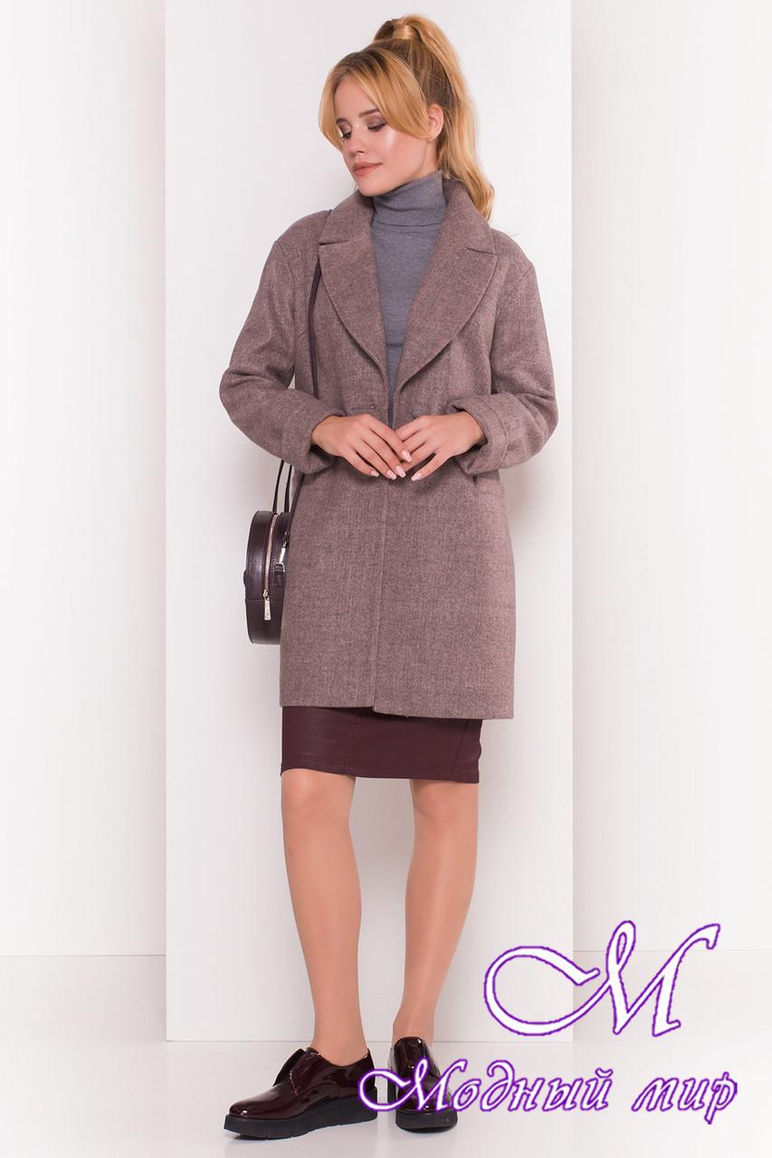 Стильное женское осеннее пальто (р. S, M, L) арт. Вива 4558 - 36640