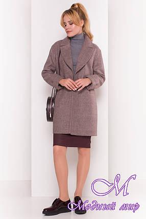 Стильное женское осеннее пальто (р. S, M, L) арт. Вива 4558 - 36640, фото 2