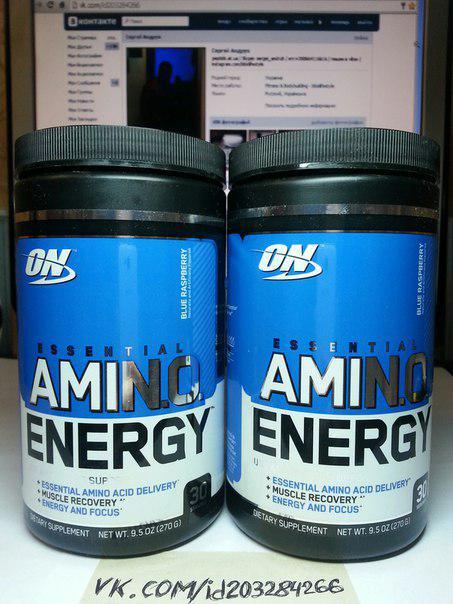 Optimum Nutrition AmiNO Energy 60 порций