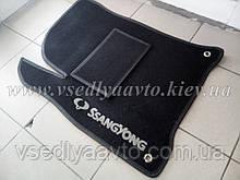 Водительский ворсовый коврик SsangYong Korando с 2010 г.