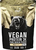Уценка (Сроки годности до EXP 07/19) Nu3 Vegan Protein 3K 1000 g (Ваниль)