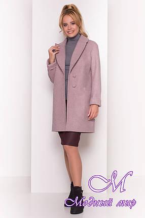 Нежное женское осеннее пальто (р. S, M, L) арт. Вива 4558 - 21630, фото 2
