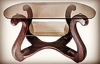 Столик для ноутбука/ журнальный  Премьер NEW 1100х700х680 (светлый орех, темный орех. венге, дуб беленый)