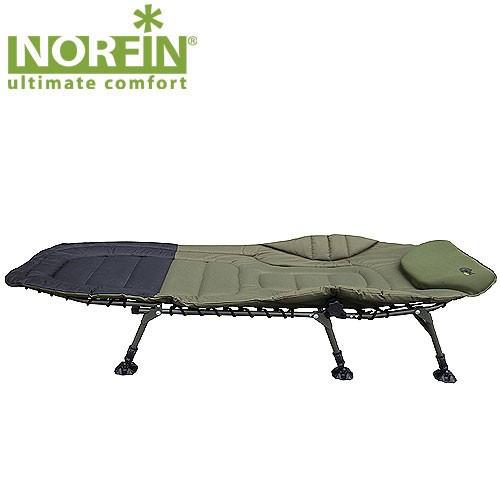 Кровать карповая  Norfin BRISTOL  210Х88х43см / max140кг / NF