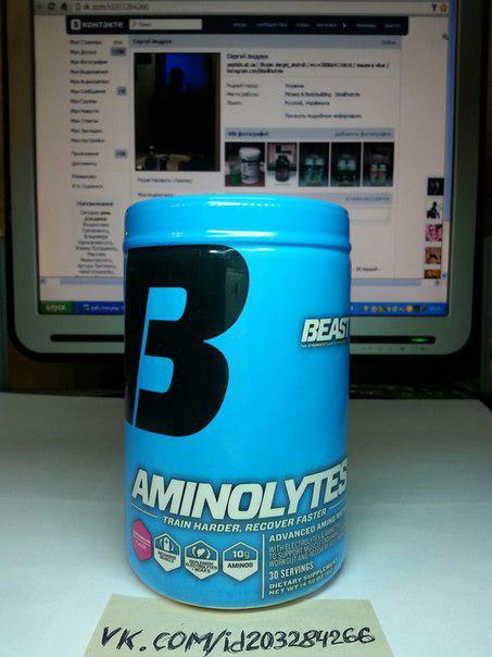Комплекс аминокислот Beast Aminolytes 30 порций