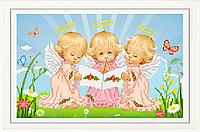 Набор для вышивки бисером Почти идеальный (девочка) НТМ-025-1