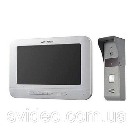Комплект видеодомофона Hikvision DS-KIS203, фото 2