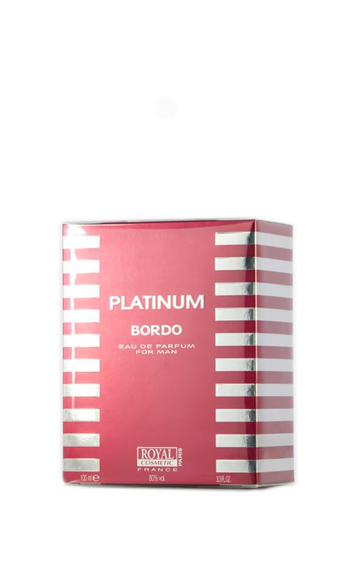 Парфюмированная вода PLATINUM BORDO для мужчин 100 мл Код 12982