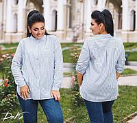 Рубашка женская большие размеры ,д4199, фото 1