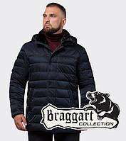 Зимняя мужская куртка Braggart Status 16120 темно-синий, фото 1