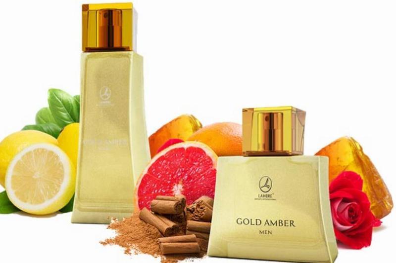 Парфюмерный набор Gold Amber Men&Gold Amber Women 75мл+75 мл