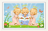 Набор для вышивки бисером Почти идеальный (мальчик) НТМ-025-2