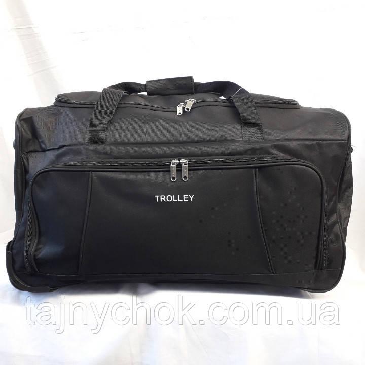 Дорожная сумка на колесах 62/31 см, фото 1