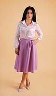 Женская юбка миди с карманами., фото 1