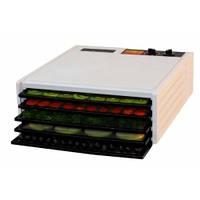 Сушка для фруктов и овощей Эскалибур,модель 4526Т, белый, 5 подносов.