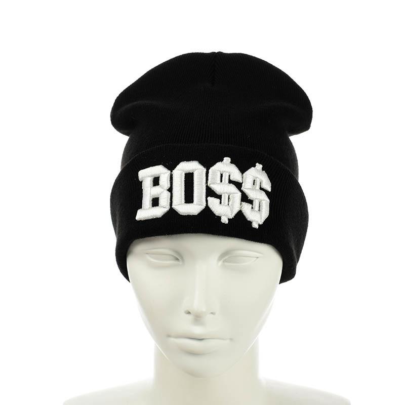 """Молодежная шапка  """"Boss"""""""
