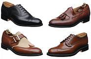 Мужская классическая обувь: модели и материалы