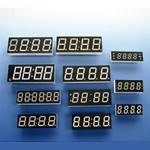 Индикатор светодиодный E40561-I-O-8-W  (LN5644-11 ) (light grey) семисегментный /Toyo/