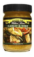 """Соус для пасты """"Чеснок и травы"""" Walden Farms 0 калорий"""