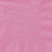 Салфетки розовые (20шт/уп)