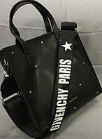 Сумка Givenchy Дживанши качественная эко-кожа дорогой Китай черная, фото 1