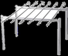 Набор из 6 шампуров с подставкой Кемпинг ZDBQ-807 (6 шт.)