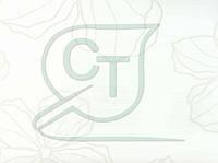 Глянцевая пленка ПВХ для МДФ фасадов Лотос белый TP8500-E