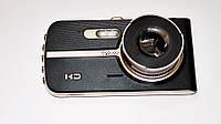 Автомобильный видеорегистратор DVR T653 Full HD с выносной камерой заднего вида