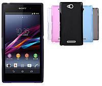 Силиконовый чехол для Sony Xperia C C2305 S39h