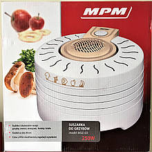 Сушилка для грибов, фруктов и овощей MPM MSG-03 (Польша)