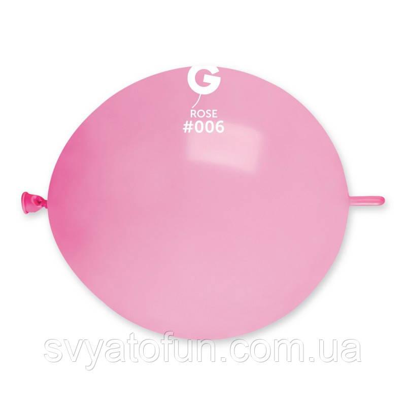 """Латексные воздушные шарики 13"""" (""""Tet-a-tet"""") пастель 06 розовый Gemar"""