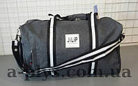 Дорожная сумка JiLiP серого цвета