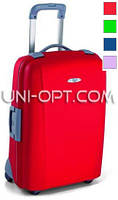 Средний пластиковый чемодан Roncato Flexi на 4 колесах