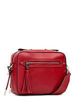 Кожаная модная женская сумка через плечо Z35-16223, фото 1