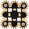 Оригинальный Прикольный Сувенир Игрушка Спиннер Toy Spinner UK B102 Вертушка Антистресс Металлический, фото 2