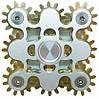 Оригинальный Прикольный Сувенир Игрушка Спиннер Toy Spinner UK B102 Вертушка Антистресс Металлический, фото 3