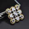 Оригинальный Прикольный Сувенир Игрушка Спиннер Toy Spinner UK B102 Вертушка Антистресс Металлический, фото 4