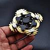 Оригинальный Прикольный Сувенир Игрушка Спиннер Toy Spinner UK B102 Вертушка Антистресс Металлический, фото 5