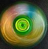Оригинальный Прикольный Сувенир Игрушка Спиннер с Фосфорными Блестками Spinner Вертушка с Подшипниками, фото 5