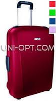 Большой пластиковый чемодан Roncato Flexi на 4 колесах